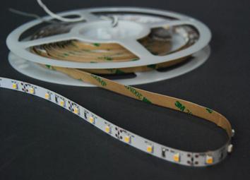Ταινία LED 60LED/m, WW, 2700K-3200K, DC 12Volt, 5m