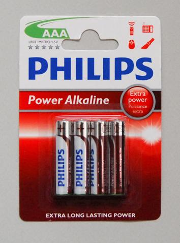 Αλκαλικές Μπαταρίες ΑΑΑ, 1.5V, 4 τεμάχια