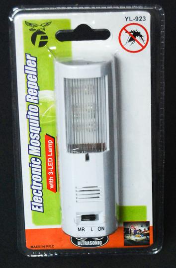 Ηλεκτρονικό Απωθητικό Εντόμων με 3 LED